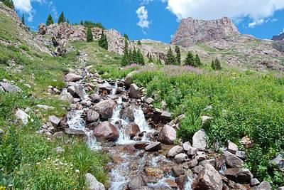 Photograph - Southwest Colorado Mountain Landscape by Cascade Colors