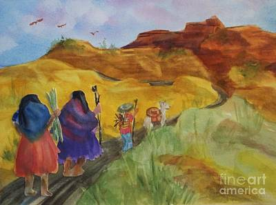 Southwest-desert Travelers-native American Original