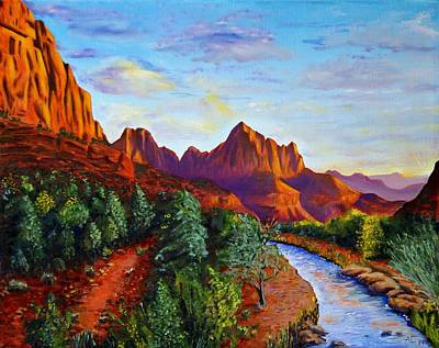 Southwest Evening Art Print