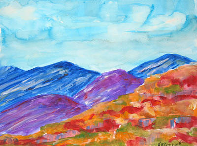 Painting - Southwest by Kerry Bennett