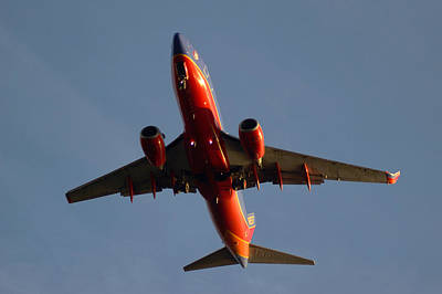 Photograph - Southwest Landing At Tpa  by Daniel Woodrum