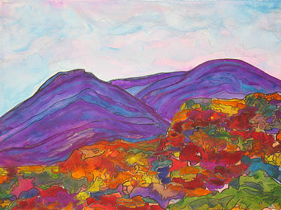Painting - Southwest Mountains by Kerry Bennett
