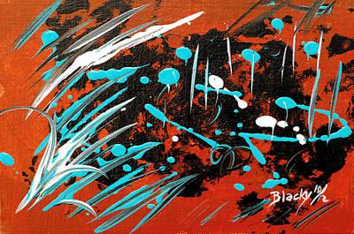 Southwest Rain Original by Donna Blackhall