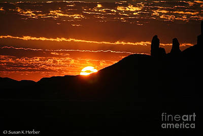 Photograph - Southwest Summer Sunrise by Susan Herber