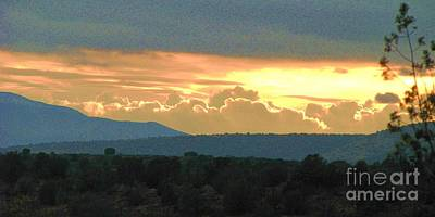 Photograph - Southwest Sunset by Michele Penner