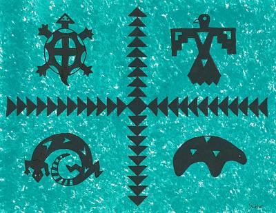 Southwest Symbols Art Print