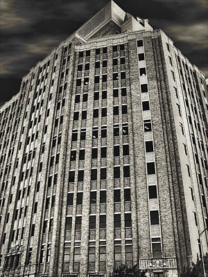 Photograph - Southwestern Bell Telephone Building - San Antonio Texas by Wendy J St Christopher
