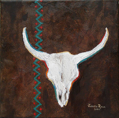 Southwestern Influence Art Print by Judith Rhue