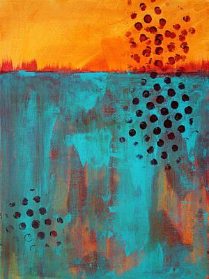 Underground Painting - Southwestern Sky by Nancy Merkle