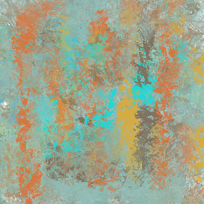 Painting - Southwestern Stone Abstract by Jessica Wright