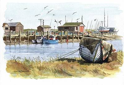 Painting - Southwold by Colin Parker