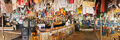Souvenir Shop, Jost Van Dyke, British Art Print by Panoramic Images