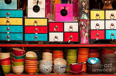 Lacquer Photograph - Souvenirs by Rick Piper Photography