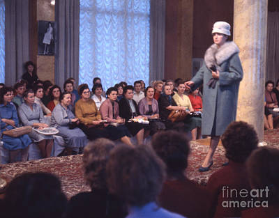 Fashion Show Photograph - Soviet Fashion Show In Moscow 1961 by The Harrington Collection