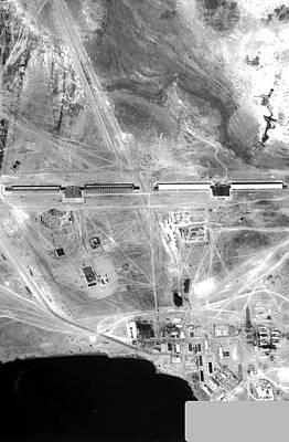 Espionage Photograph - Soviet Space Radar Facility by National Reconnaissance Office