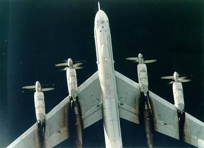 B-52 Mixed Media - Soviet Tupolev 95 Bear Upsized A Little by L Brown