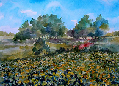 Soybean Field Original by James Huntley