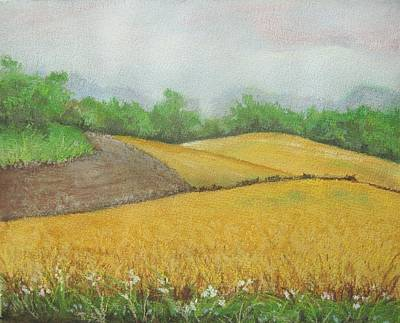 Soybean Fields Original by Kim Lucianovic
