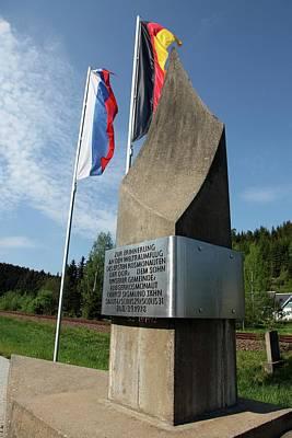 Sigmund Photograph - Soyuz 31 Monument by Detlev Van Ravenswaay