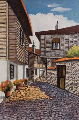 Nature Depiction Painting - Sozopol 1 by Stefan Shikerov