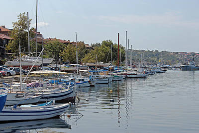 Photograph - Sozopol Harbour Bulgaria. by Tony Murtagh