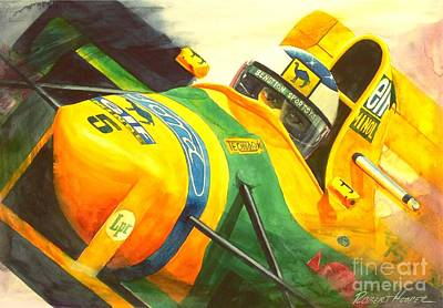 Automobilia Painting - Spa by Robert Hooper