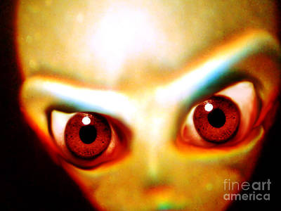 Photograph - Space Alien by John Chumack