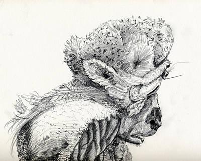 Space Alien Art Print by Whistler Kenworthy