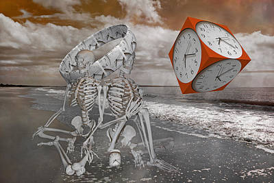 Physiology Digital Art - Space And Time by Betsy Knapp