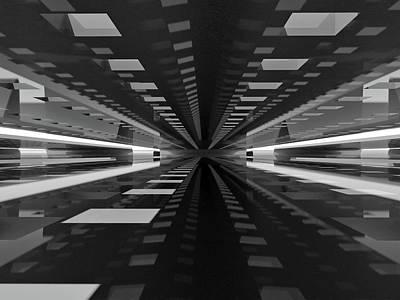 Perspective Wall Art - Photograph - Space by Antonyus Bunjamin (abe)