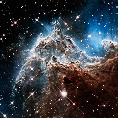 Photograph - Space Everest Ngc 2174 by Weston Westmoreland