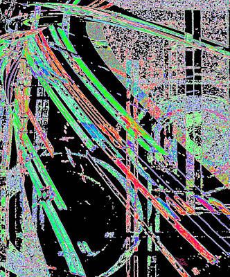 Digital Art - Space Highway by Stephanie Grant