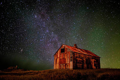 Milky Way Wall Art - Photograph - Space House ... by Iurie Belegurschi