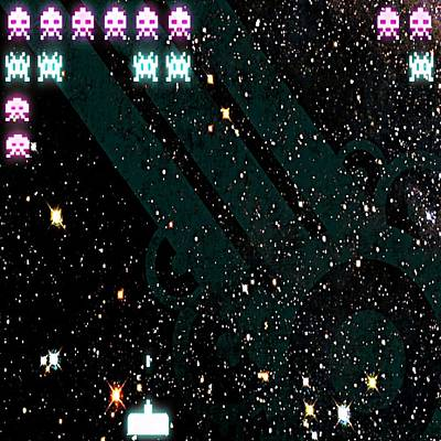 Ufo Photograph - Space Invaders by Daryl Macintyre