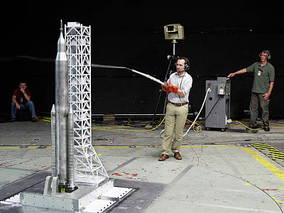 Future Photograph - Space Launch System Testing by Nasa