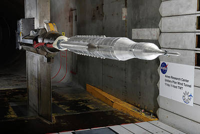Aerodynamics Photograph - Space Launch System Testing by Nasa/arc/dominic Hart