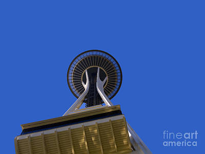 Photograph - Space Needle by Brenda Kean