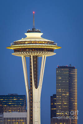 Photograph - Space Needle by Brian Jannsen