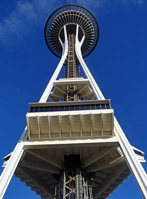 Photograph - Space Needle Study 2 by Robert Meyers-Lussier