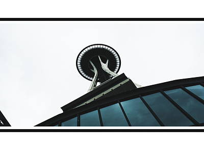 Photograph - Space Needle Two by A K Dayton