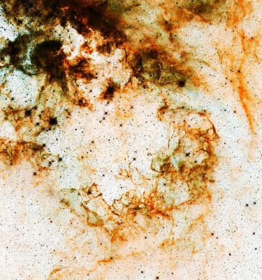 Space Rust Art Print by Jennifer Rondinelli Reilly - Fine Art Photography