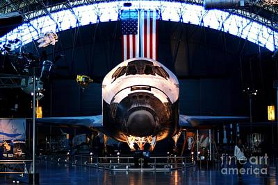 Space Shuttle Discovery Art Print by Patti Whitten