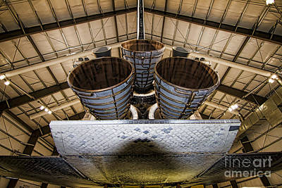 Photograph - Space Shuttle Endeavour by Jason Abando