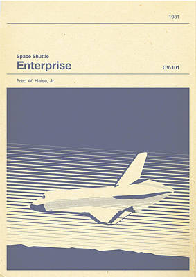 Space Shuttle Enterprise Art Print