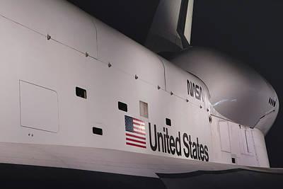 Nyc Enterprise Shuttle Photograph - Space Shuttle Enterprise by Jaroslav Frank