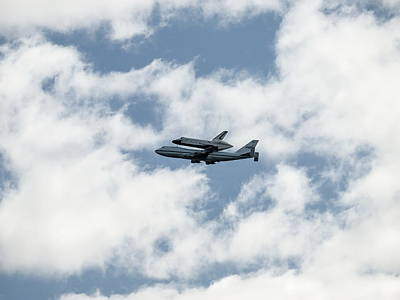 Space Shuttle Enterprise  Print by Wayne Gill