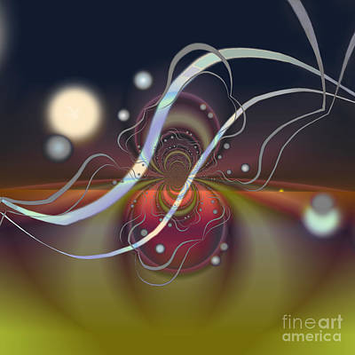 Digital Art - Space Symphony  by Ursula Freer