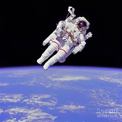 Photograph - Space Walk 1 by Rod Jones