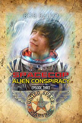 Spacecop 3 Art Print by Bob Bello