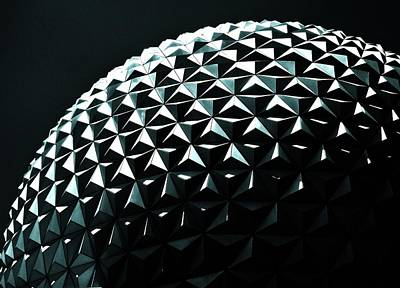 Photograph - Spaceship Earth by Benjamin Yeager